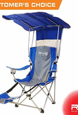 Raise Your Game RYG Folding C&ing Chair Set Portable Outdoor Reclining C& Chairs Heavy Duty Lightweight Lounge Beach Chair with Adjustable Shade ...  sc 1 st  Swimsuit World & GCI Outdoor Waterside SunShade Folding Beach Recliner Chair with ...